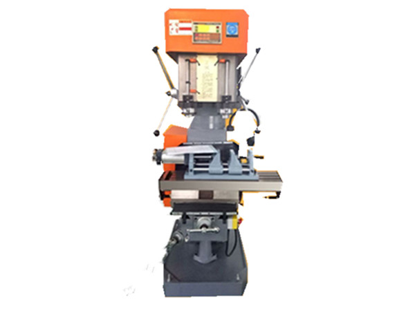 Manual Double Shaft Drilling& Tapping Compound Machine