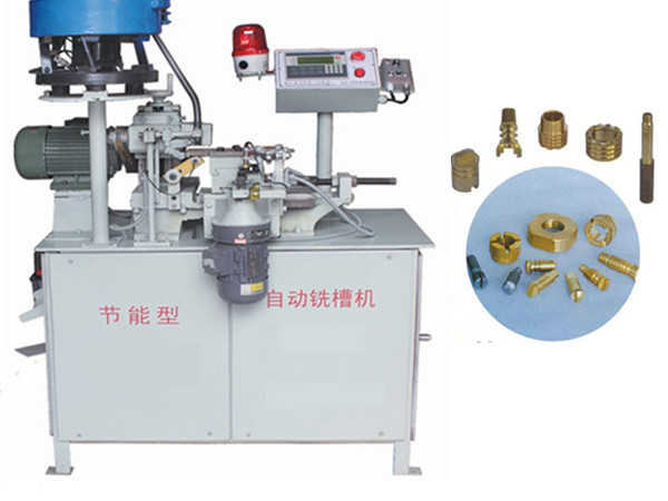 Full Automtic Milling and Slot Machine Biaxial Energy Saving Type